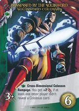SOULSWORD COLOSSUS Upper Deck Marvel Legendary POSSESSED BY SOULSWORD