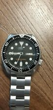 SEIKO DIVERS AUTOMATIC STEEL STAINLESS BLACK