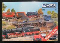 POLA 216 - Kohlesturzbühne - Coal tipping platform - Spur N Bausatz - NEU&OVP