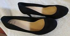 Oasis size uk size 6,EU size 39 high heels in black
