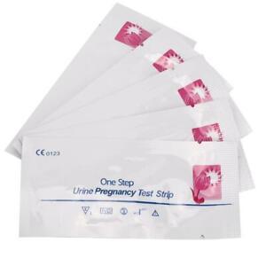 Kit de Tiras de Prueba de Embarazo de 20 Piezas, detección Temprana de Prueba de