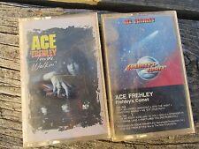 2 LOT Cassette Tape  ACE FREHLEY - Frehley's Comet & Trouble Walkin'