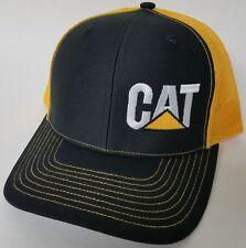 CAT Caterpillar Hvy. Machinery Richardson Trucker Mesh Snapback 112 Baseball Hat