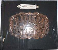 Madonna Rare Music (UK/German) BLACK Hessian Limited Edition Book. Sealed/Mint
