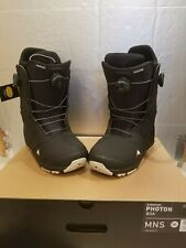 New listing NEW Burton PHOTON Men's Snowboard DOUBLE BOA Boots 10.5 Ruler Ion Swath Ride