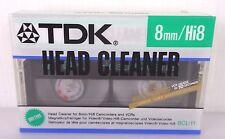 tdk head cleaner 8mm/hi8 new factory saled, RARE!
