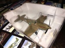 Boxed Franklin Mint Armour Diecast Airplane P-40 F5 Warhawk Madkot B11B626 1:48