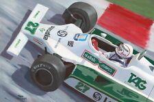 Art Card 1980 Williams Ford FW07 #27 Alan Jones (AUS) by Toon Nagtegaal (OE)