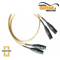 Analysis Plus Micro Golden Oval Interconnect Cables, PAIR, 0.5 Meters, XLR-XLR