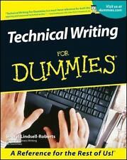 Technical Writing For Dummies Lindsell-Roberts, Sheryl Paperback