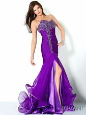 Jovani 3100 Purple Size 4 NEW Special Occasion, Evening Dress-Military Ball-Prom