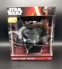 Star Wars Darth Vader Helmet 3D Deco Light Wall Mount New Official Disney