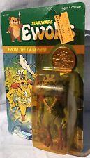 1985 New Sealed NOS Vintage Star Wars KING GORNEESH Action Figure Ewoks Cartoon