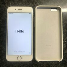 Apple iPhone 6, 64GB, White front Silver back