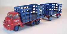 Vilmer Denmark Nr. 620 / 621 Bedford Cattle Truck with Trailer #5102