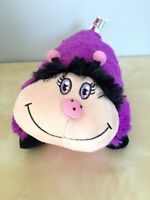 Pillow Pets Pee-Wees Purple Lady Bug Stuffed Animal Toy 2011 Limited Edition
