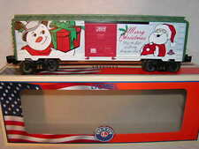 Lionel 6-82691 Merry Christmas Holiday 2015 Box Car O 027 New Made in USA