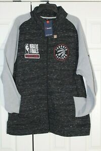 Fanatics NBA Toronto Raptors 2019 Championship Full Zip Jacket Mens Size 2XL