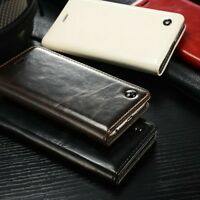Luxury CaseMe Leather Wallet Case Stand Flip Cover for iPhone 5S SE 6S 7 8 Plus