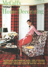 McCALLs YOU-DO-IT HOME DECORATING 1968 COLOR_FLOWER-POWER_EARLY AMERICAN DESIGNS