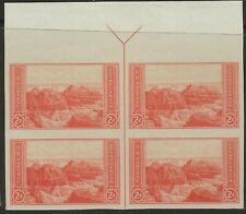 SC SC 757 2 CENT NATIONAL PARKS ISSUE TOP ARROW BLOCK OF 4---67