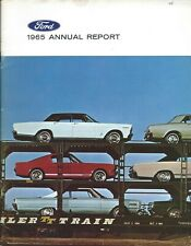 Annual Report - Ford Motor Comapny - 1965 (AR60)