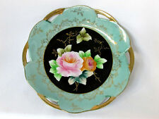 Plate Dish Shafford Fine China Japan Flowers Decorative Wall Accent VTG Signed