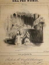 Antoine MARMONTEL (1816-1898) PARTITION ENVOI AUTOGRAPHE MUSIQUE PIANO AUVERGNE