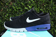 NIKE SB STEFAN JANOSKI MAX SZ 11 BLACK DEEP NIGHT WHITE 631303 015