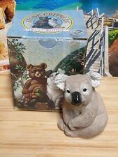 1988 United Design Corp. Stone Critters Koala Bear Figurine #Sc-050