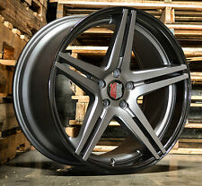 "20"" Roderick RW7 Concave Wheels For Infiniti G35 Coupe Staggered Rims Set (4)"