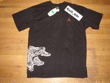 Nike Air Jordan T Shirt Size XL Black White Tee Extra Large Vintage 2005 B