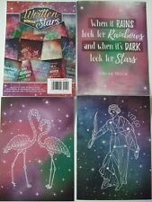 """Hunkydory 36 mixed Toppers""""Written in the Stars"""" see pictures see description"""