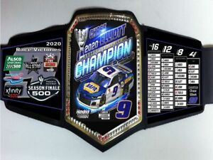 Chase Elliott #9 NAPA 2020 NASCAR Cup Series Champion Championship Belt