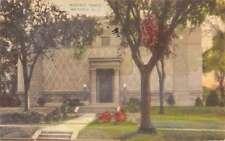 Westfield New Jersey Masonic Temple Street View Antique Postcard K45840