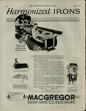 1927 Macgregor Course Tested Golf Clubs Vintage Print Ad 3873