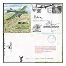 RAF(PandP)20d Hendon Signed by Group Captain and Air Commodore