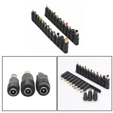 23x DC Female Jack to Multi Type Power Plug Connector Adapter 5.5 x 2.1mm Set er