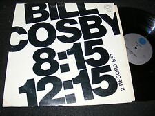BILL COSBY Tetragrammaton Record 2 LP Issue 8:15 12: 15 Gatefold with Adult SHOW