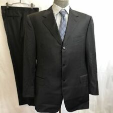 Three Button 100% Wool Suits and Suit Seperates for Men