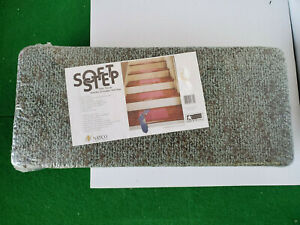 "NEW Natco SOFT STEP Carpet Stair Treads 8"" x 18"" Sealed"