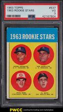 1963 Topps Pete Rose ROOKIE RC #537 PSA 3 VG (PWCC)