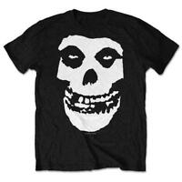 Misfits T Shirt Classic Fiend Skull Official Black Mens Punk Rock Merch Unisex