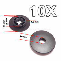 10X Floor Mat Fastener, Holder Fixing Clips, Carpet Clamps for VW, Skoda, Audi