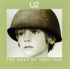 U2 THE BEST OF 1980-1990 CD NEW