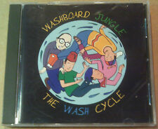WASHBOARD JUNGLE - The Wash Cycle CD - EXCELLENT CONDITION! Out Of Print  RARE!