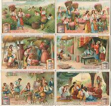 Chromo Liebig Sang. 924 ITA La Preparazione dell'Essenza di Rose ANNO 1908