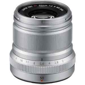 Fujifilm - XF 50mm f/2 WR Lens Silver