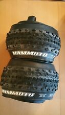Maxxis Mammoth Pair 2 Two Tyres Fat Bike 26 x 4.0 120 tpi EXO Tubeless Ready