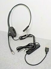 Plantronics SupraPlus Hw251N Headset with Da40 Usb Cable